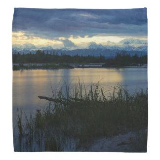 Denali Midnight Sunset Kerchief