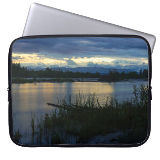 Denali Midnight Sunset Laptop Sleeve