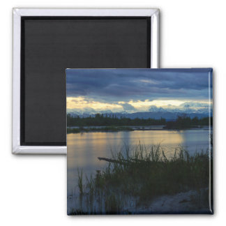 Denali Midnight Sunset Magnet