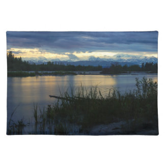 Denali Midnight Sunset Placemat