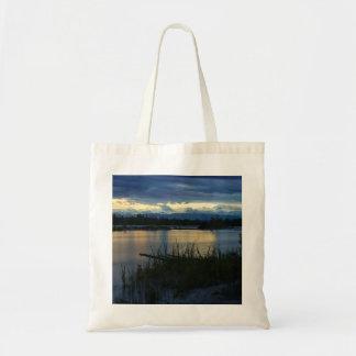 Denali Midnight Sunset Tote Bag