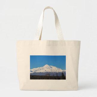 Denali mountains7 large tote bag