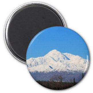 Denali mountains7 magnet