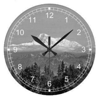 Denali (Mt. McKinley) Large Clock