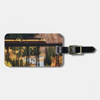Denali National Park and Preserve USA Alaska Bag Tag