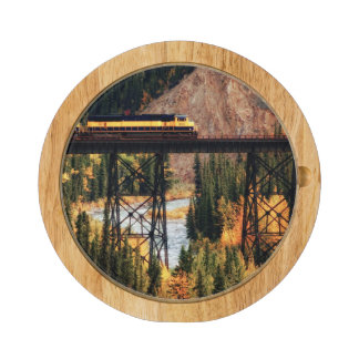 Denali National Park and Preserve USA Alaska Rectangular Cheese Board