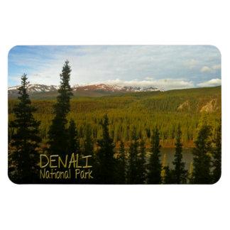 Denali National Park in Alaska Rectangular Photo Magnet