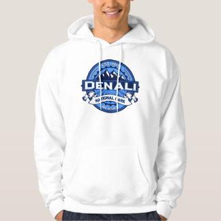 Denali NP Logo Blue Hoodie