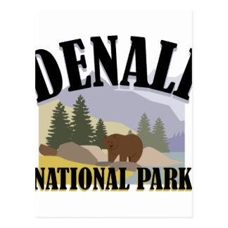 Denali Park Postcard