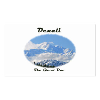 Denali / The Great One Business Card
