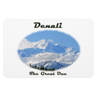Denali / The Great One Rectangular Photo Magnet