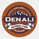 Denali Vibrant Stickers