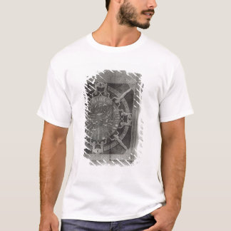 Dendera Zodiac, engraved in 1802 T-Shirt