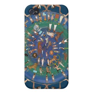 Dendera Zodiac Temple of Hathor iPhone 4/4S Cover