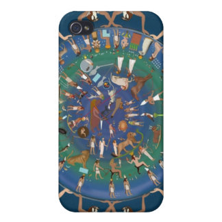 Dendera Zodiac Temple of Hathor iPhone 4 Cases