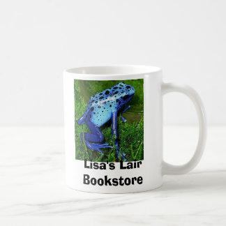 Dendrobates azureus - blue poison frog coffee mug