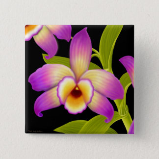 Dendrobium Nobile Orchid Pin