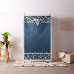 Denim and Diamond Photo Backdrop Photo Booth Fabric