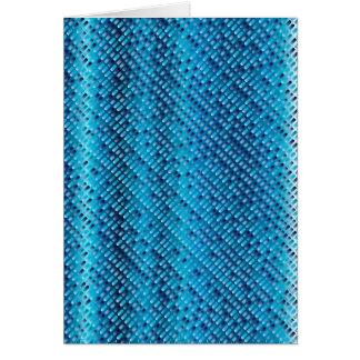 Denim Blue Background Card