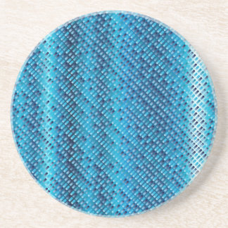 Denim Blue Background Coaster