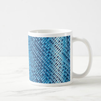 Denim Blue Background Coffee Mug