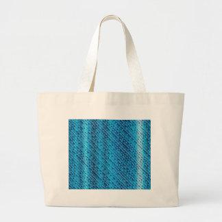 Denim Blue Background Large Tote Bag