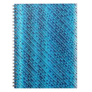 Denim Blue Background Note Book