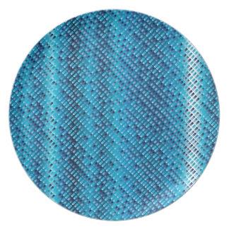 Denim Blue Background Plate