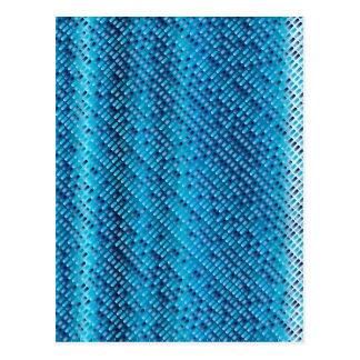 Denim Blue Background Postcard