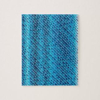 Denim Blue Background Puzzles