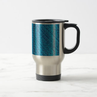 Denim Blue Background Travel Mug
