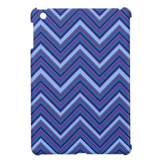 Denim Blue Chevrons iPad Mini Covers