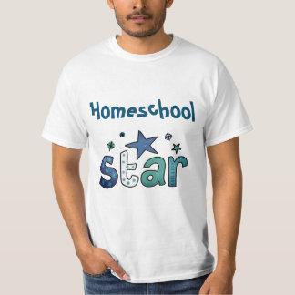 Denim Blue Home school Star T-Shirt