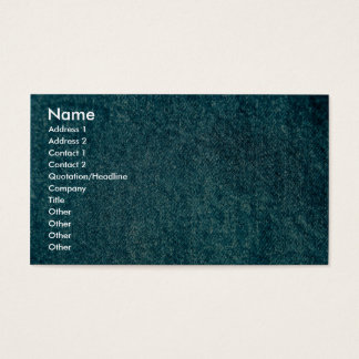 Denim Business Card