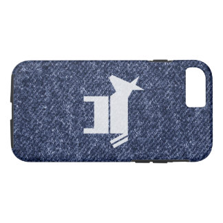 Denim Democratic Donkey iPhone 8/7 Case
