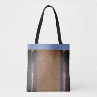Denim Design Tote - Blue
