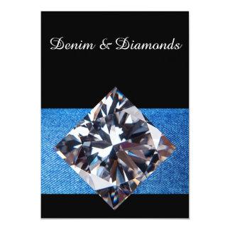 Denim & Diamonds Invitation II