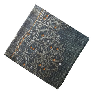 Denim Gems Bandana