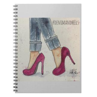 Denim & Heels Notebook/Planner Notebook