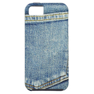 Denim Jeans Pocket Blue Fabric style fashion rich iPhone 5 Cover