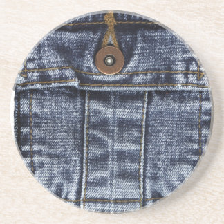 Denim Jeans Pocket Coaster
