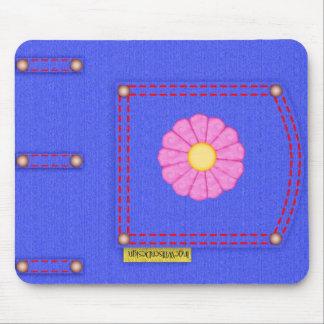 Denim Jeans Pocket Mousepad