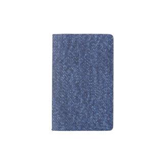 Denim Look Pocket Moleskine Notebook