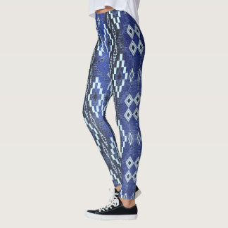 Denim Ombre' Southwest Leggings