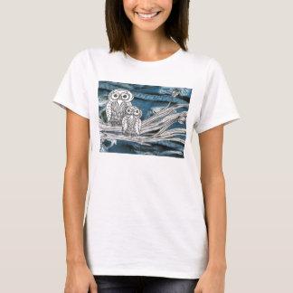 Denim Owls T-Shirt
