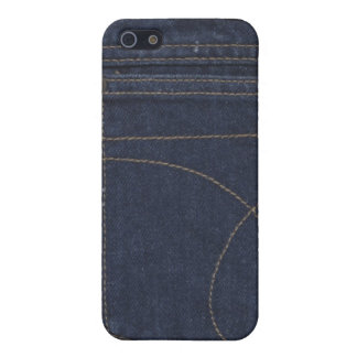 Denim Pocket Speck Case Cover For iPhone 5/5S