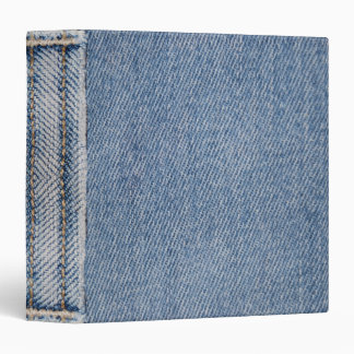 Denim Print Binder
