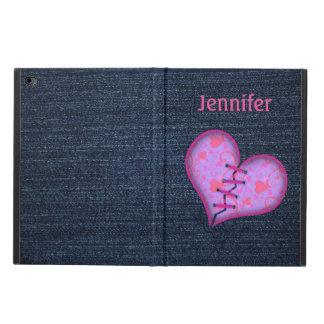 Denim, Purple, and Pink iPad Air 2 Case
