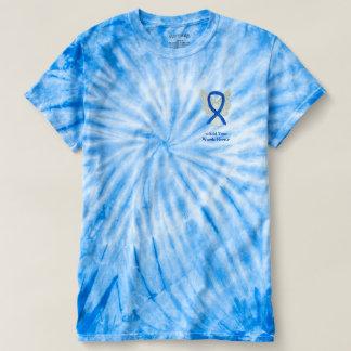 Denim Ribbon Angel Cause Awareness Custom Shirts