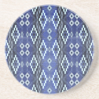 Denim Southwest Ombre Beverage Coasters